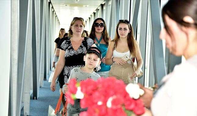 Esneme kararları Rus turisti harekete geçirdi