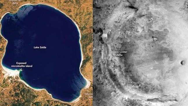 NASA, Mars'taki yaşam izlerini Salda Gölü'nde arayacak