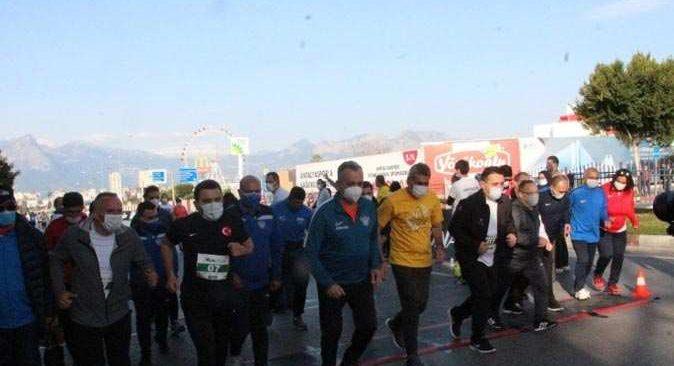 16. Runatolia maratonu 39 ülkeden 3 bin 500 sporcu katılımıyla gerçekleşti