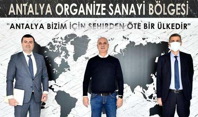 Şekerbank'tan Antalyalı sanayiciye destek sözü