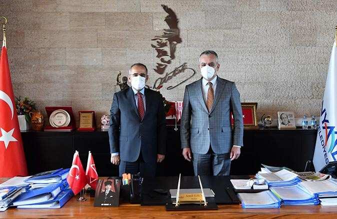 TBMM Başkanvekili Akar'dan Başkan Esen'e ziyaret