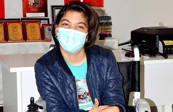 14 yaşındaki Şeyma Nur'un hayalini hayırseverler gerçekleştirdi