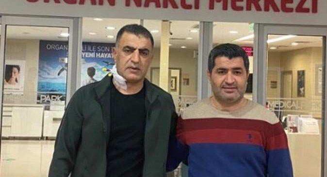 TSYD Başkanı Şifa Çiçek kardeşi Kasım Çiçek'e böbreğini verdi