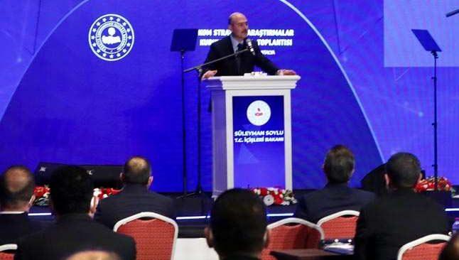 Bakan Süleyman Soylu Antalya'da böyle duyurdu!