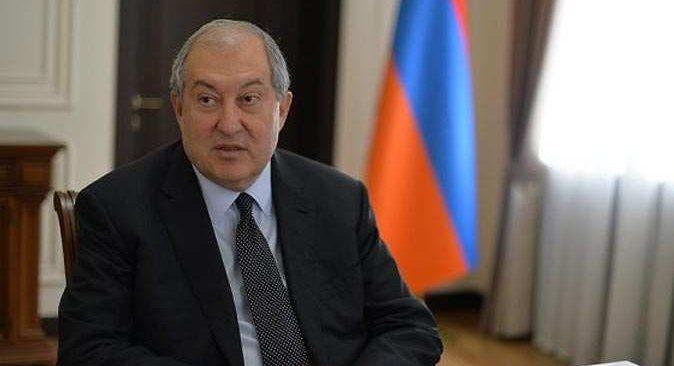 Ermenistan Cumhurbaşkanı hastaneye kaldırıldı