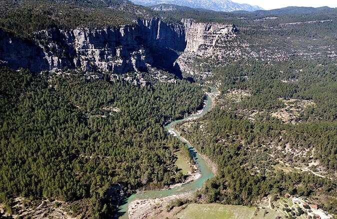 Doğa severlerden Tazı Kanyonu'na sahip çıkalım çağrısı