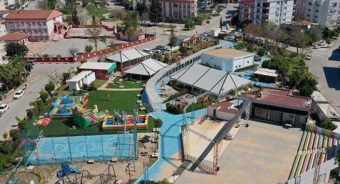 Pandemi nedeniyle kapanan Teneffüs Park, 1 Nisan'da açılıyor