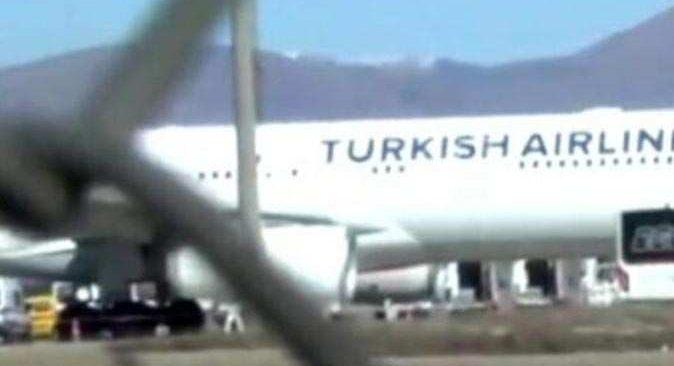 Bişkek-İstanbul seferini yapan THY uçağı Ankara'ya indi