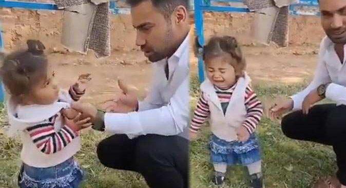 TikTok'ta skandal görüntüler! Beğeni almak için kız çocuğunu dövdü