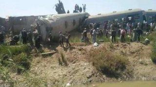 Mısır'da iki tren çarpıştı! 32 kişi hayatını kaybetti
