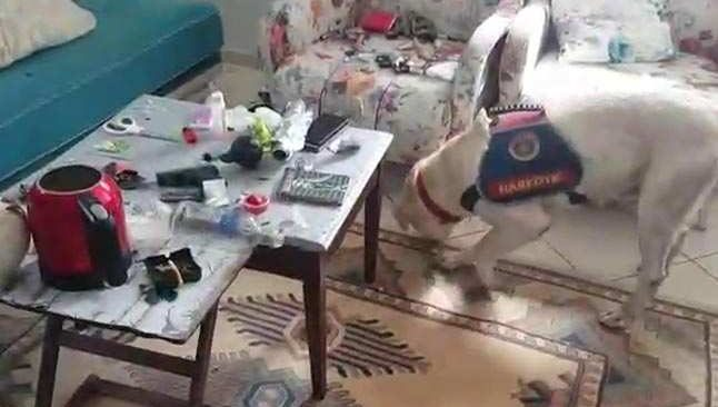 Antalya'da uyuşturucu operasyonu! Makyaj çantasına gizlemişler...
