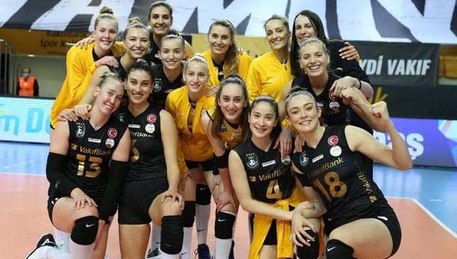 VakıfBank CEV Şampiyonlar Ligi'nde finalde