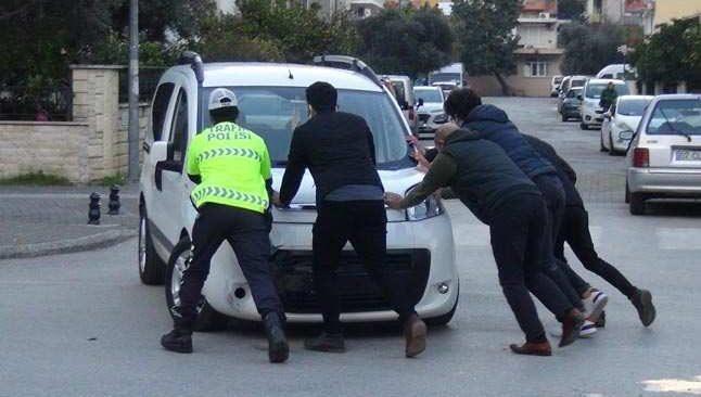 Antalya'da korkutan zincirleme kazası