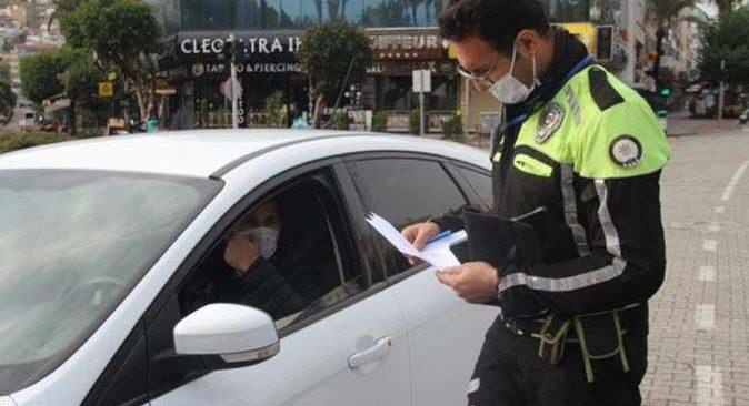 Alanya'da kısıtlamayı ihlal edenlere ceza yağdı