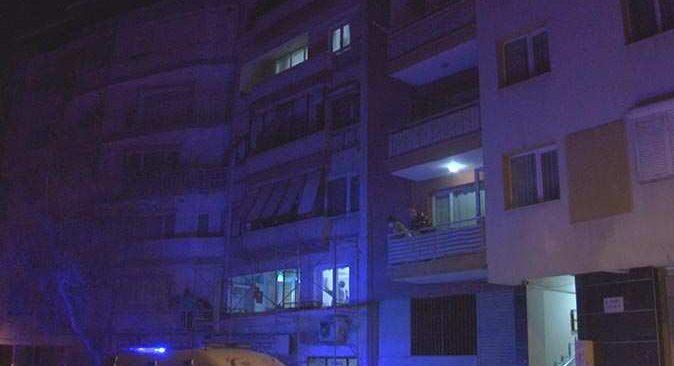 İzmir'de eski sevgilisinin oğlundan kaçarken canından oluyordu