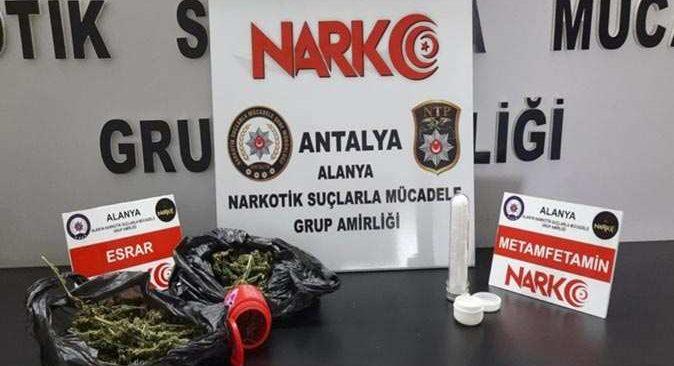 Antalya'da tırda ele geçirildi! Şüpheli gözaltına alındı