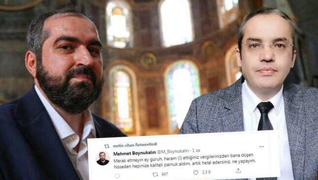 Eski Ayasofya imamına Cumhurbaşkanı adayı Ali Aktaş'tan tepki