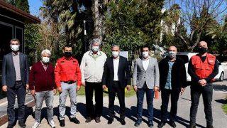 Başkan Ümit Uysal, ASSİM Çevre Komitesi'yle buluştu