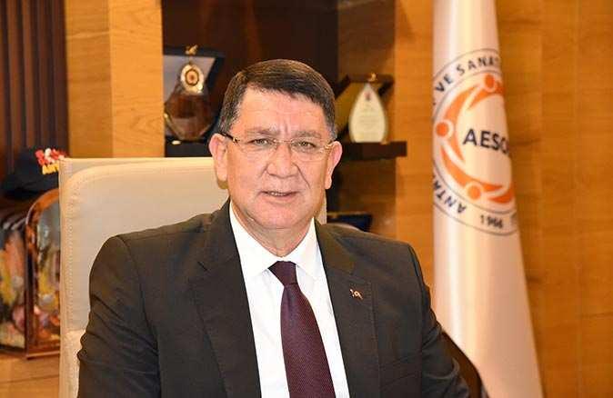 AESOB Başkanı Adlıhan Dere'den 23 Nisan mesajı