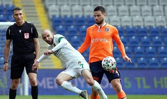 Başakşehir, Alanyaspor maçında kardeş payı