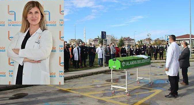 Doktor Aliye Aydoğan'a hüzünlü veda