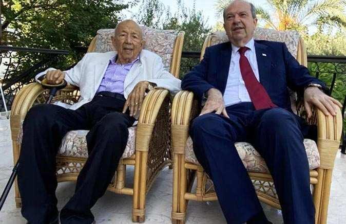 Cumhurbaşkanı Ersin Tatar'ın babası Rüstem Tatar hayatını kaybetti