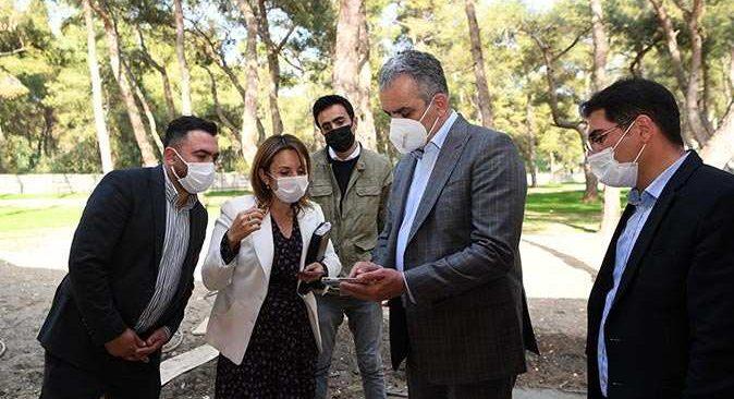 Antalyalıların yeni buluşma noktası olacak HayatPark'ta 2'nci etap çalışmaları sürüyor