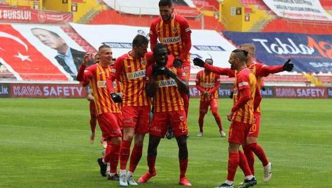 Antalyaspor'a Kayserispor morali
