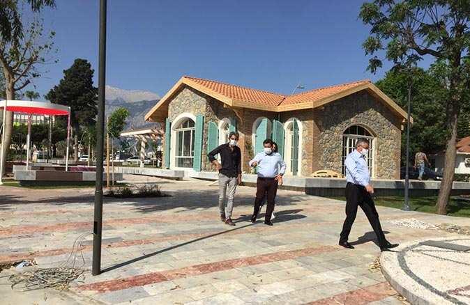 Kemer'in yeni yüzü Atatürk parkı