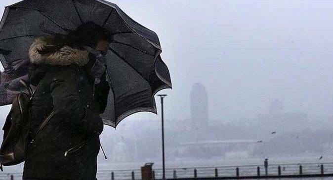 Meteorolojiden o iller için yağmur ve kuvvetli rüzgar uyarısı