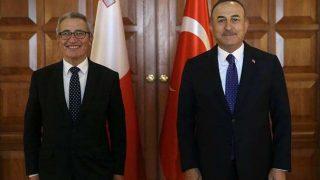 Bakan Mevlüt Çavuşoğlu mevkidaşı Bartolo'yu Antalya Diplomasi Forumu'na davet etti