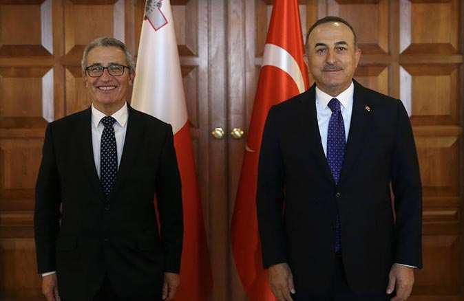 Bakan MevlütÇavuşoğlu mevkidaşı Bartolo'yu Antalya Diplomasi Forumu'na davet etti