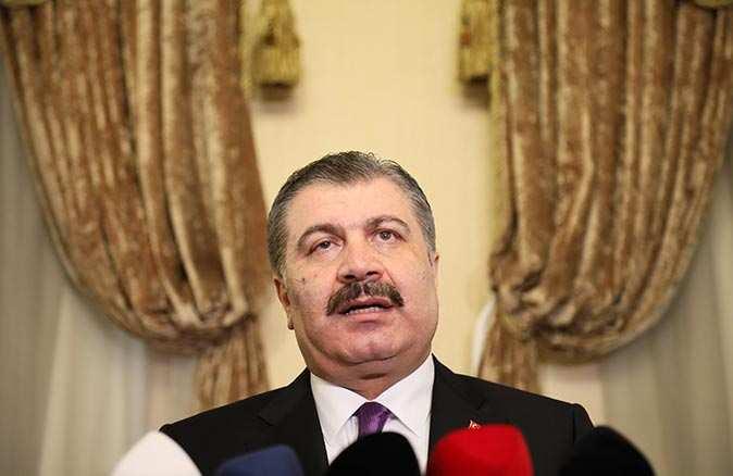 Sağlık Bakanı Fahrettin Koca: Son iki haftada hastaneye müracaat edenlerin sayısı yarı yarıya düştü