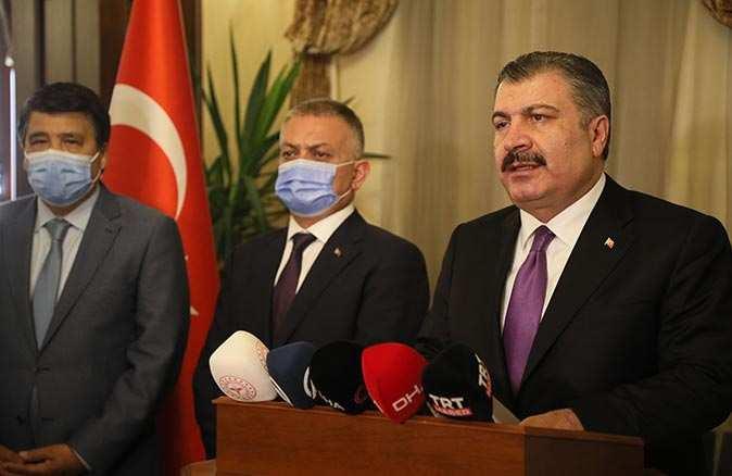 Sağlık Bakanı Fahrettin Koca'dan tam kapanma açıklaması