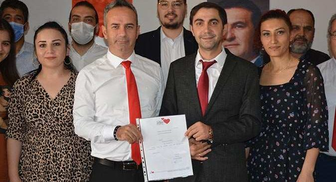 TDP Alanya İlçe Başkanlığı'na Ercan Tüysüzoğlu atandı