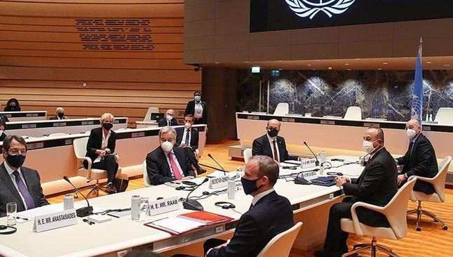 Cenevre'de kritik zirve! KKTC Cumhurbaşkanı Tatar'dan 6 maddelik öneri