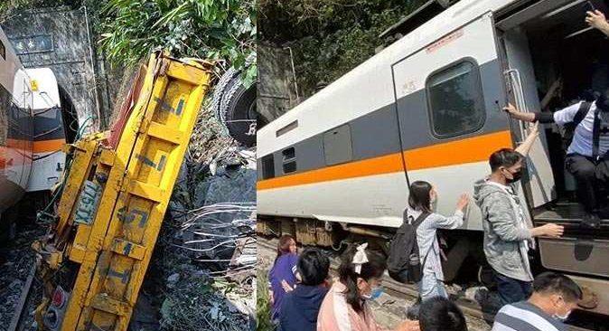 Tayvan'da tren faciası! 36 kişi hayatını kaybetti
