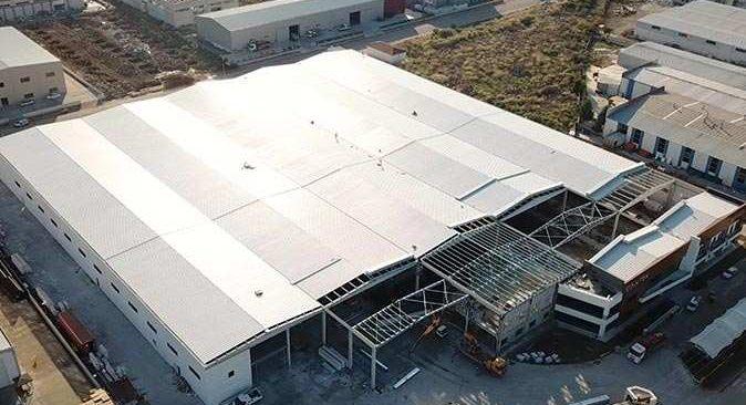 Türkiye'nin ilk bitki fabrikası yeniden inşa edildi