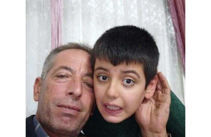 10 yaşındaki Rafettin'in ailesi gözyaşlarına boğuldu
