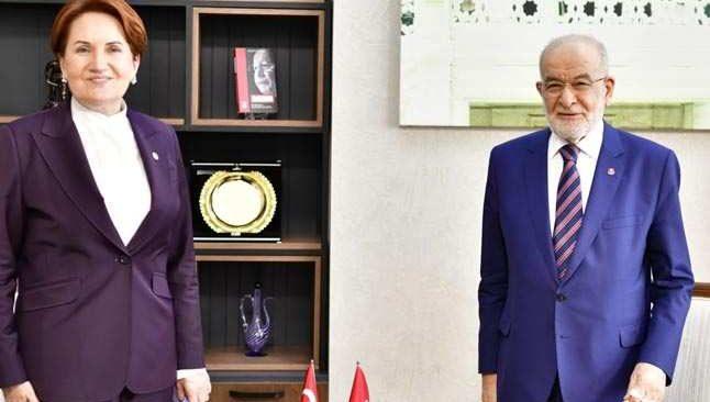 Akşener, Karamollaoğlu ile görüştü