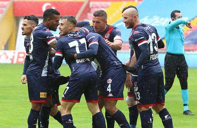 Antalyaspor'un hedefi kupa finali