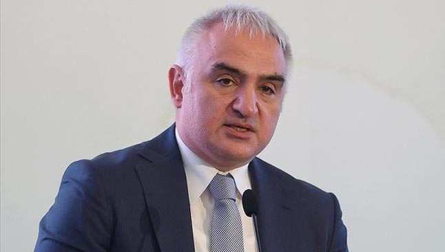 Kültür ve Turizm Bakanı Ersoy'dan aşı açıklaması