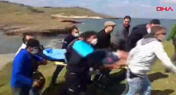 Son dakika... İzmir'de askeri uçak denize düştü