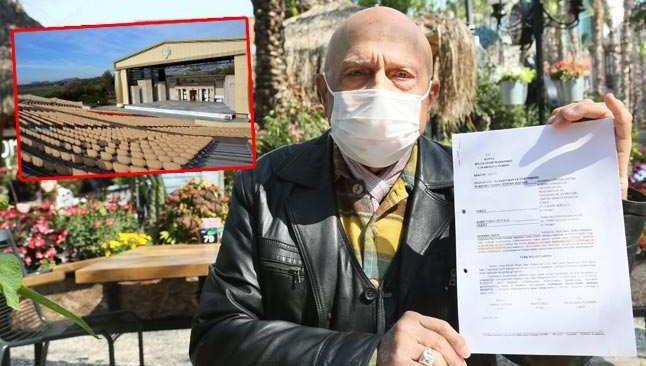 Yıkım kararı verilen Aspendos Arena 'tarım arazisi'nden çıkarıldı