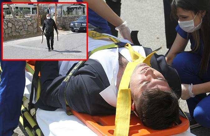 İcraya giden genç avukat dehşeti yaşadı! Sopa ile saldırılar