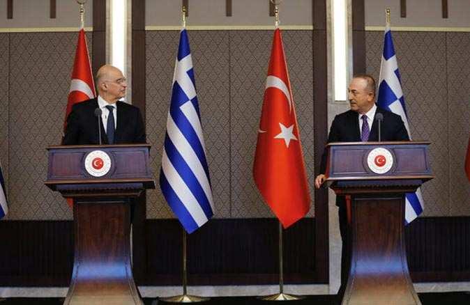 Bakan Mevlüt Çavuşoğlu'nun cevabının ardından Yunanistan'dan geri adım