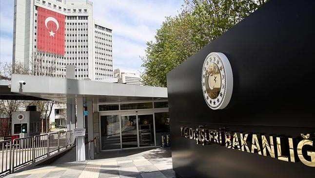 Dışişleri Bakanlığı, barış gücüne yapılan terör saldırısını kınadı
