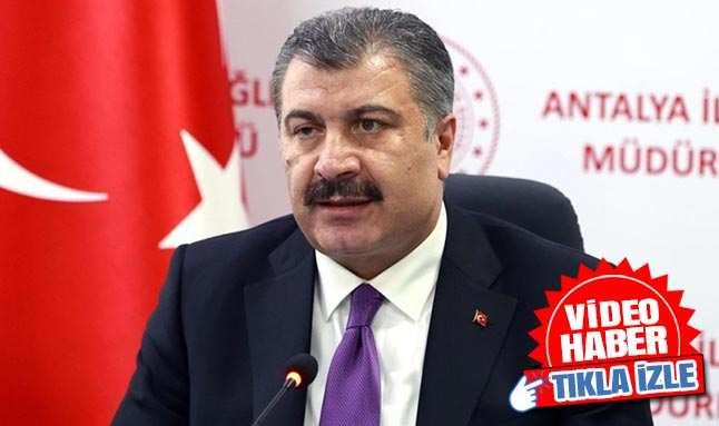 Sağlık Bakanı Fahrettin Koca Antalya'ya müjdeli haberi verdi