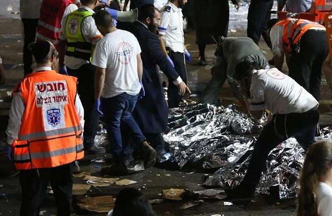 İsrail'de Lag BaOmer Bayramı kutlamalarında 44 kişi hayatını kaybetti