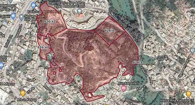 Bodrum'daki dev arazinin imar planı değiştirildi